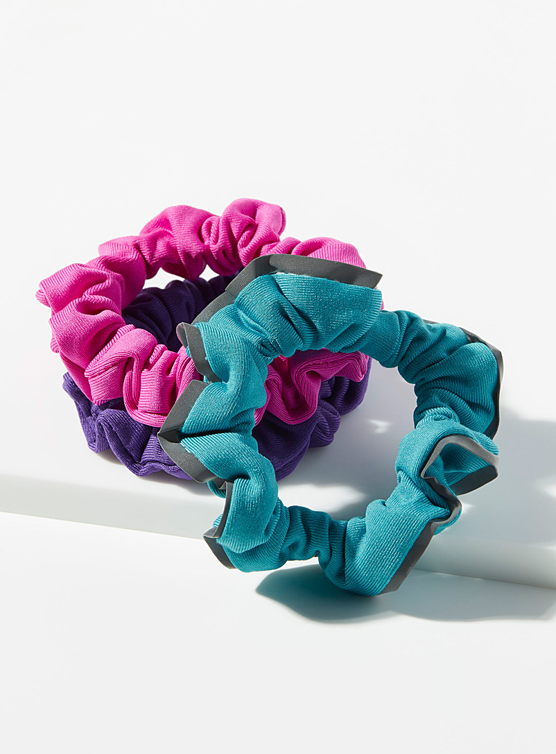 Reflective band scrunchies  Set of 3