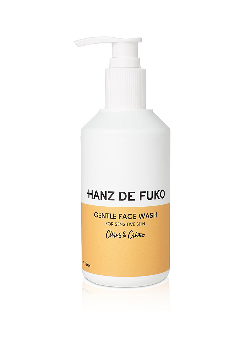 Hanz De Fuko Medium Yellow Gentle facial cleanser for men