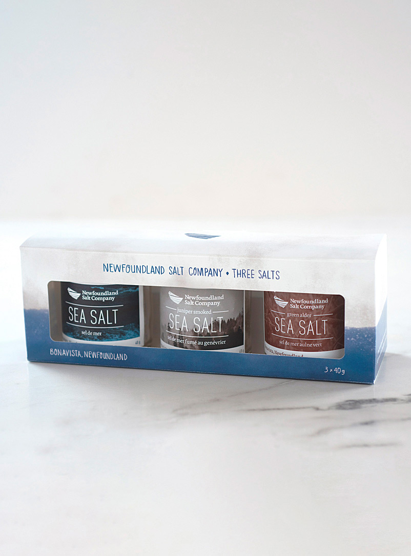 Newfoundland Salt Company Assorted Forest fragrance sea salt trio set