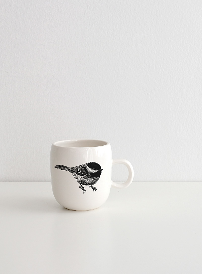 Cindy Labrecque Black and White Our animals mug