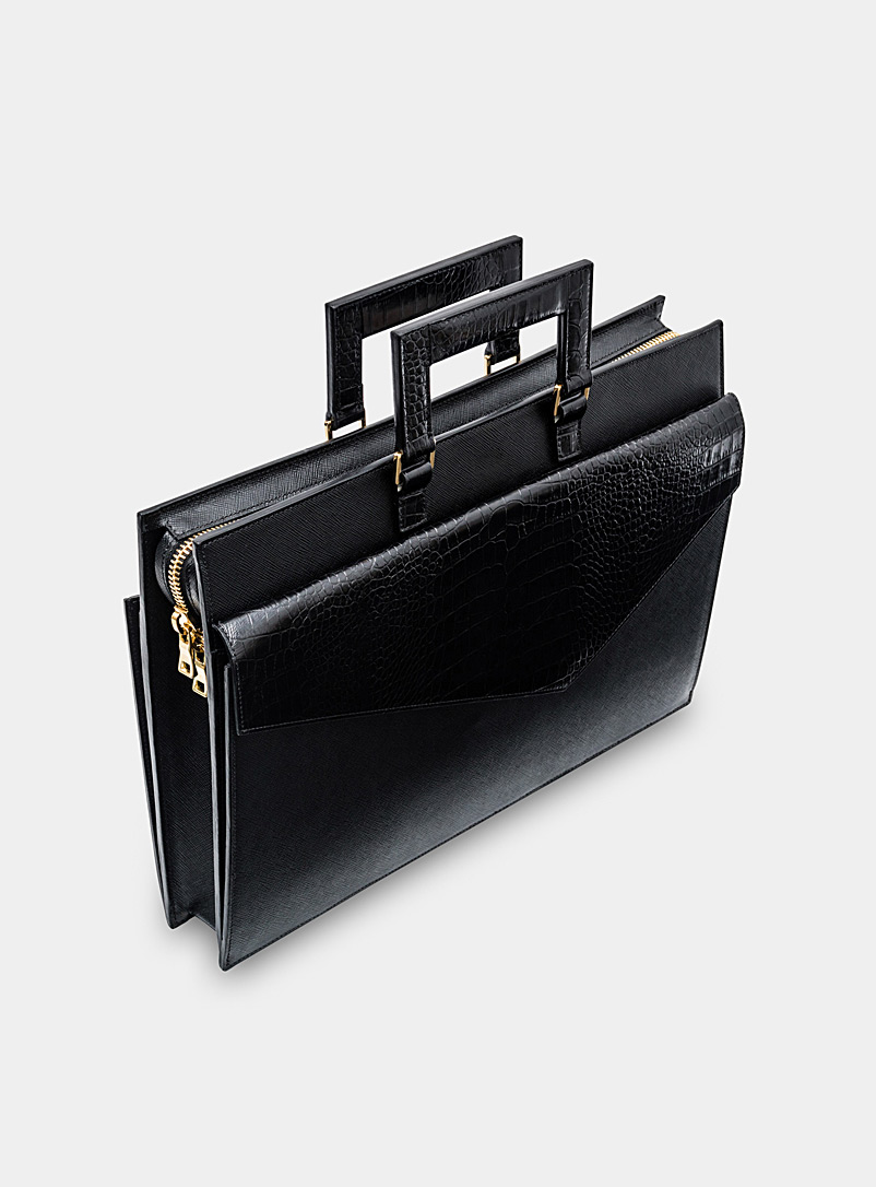 Kilani Black Gratify briefcase