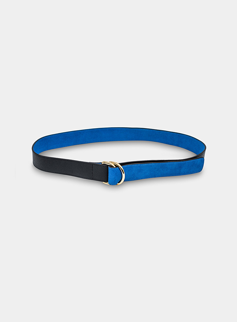 Kilani Black Sloth reversible belt