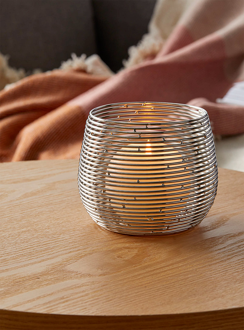 Simons Maison Assorted Silvery metal candle holder