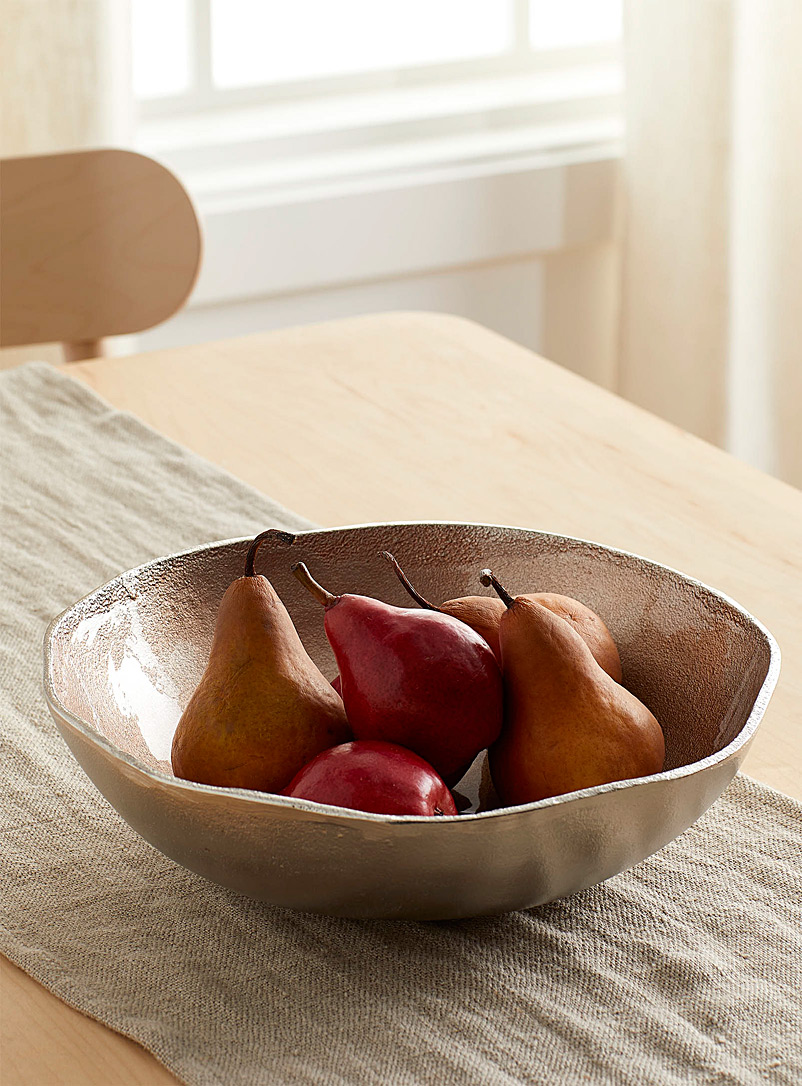 Simons Maison Assorted Pearly shell fruit bowl