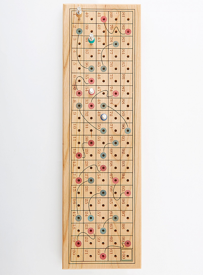 Niconico Assorted Wooden Snakes and Ladders game