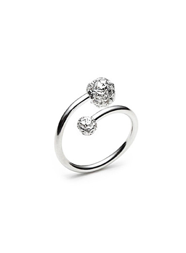 Dominic Dufour Silver Meteor ring