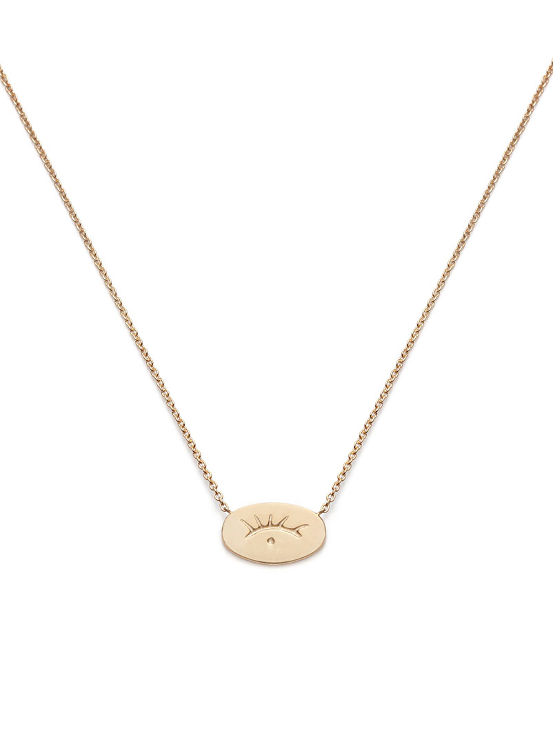 Nina Janvier Assorted Gold Houria necklace