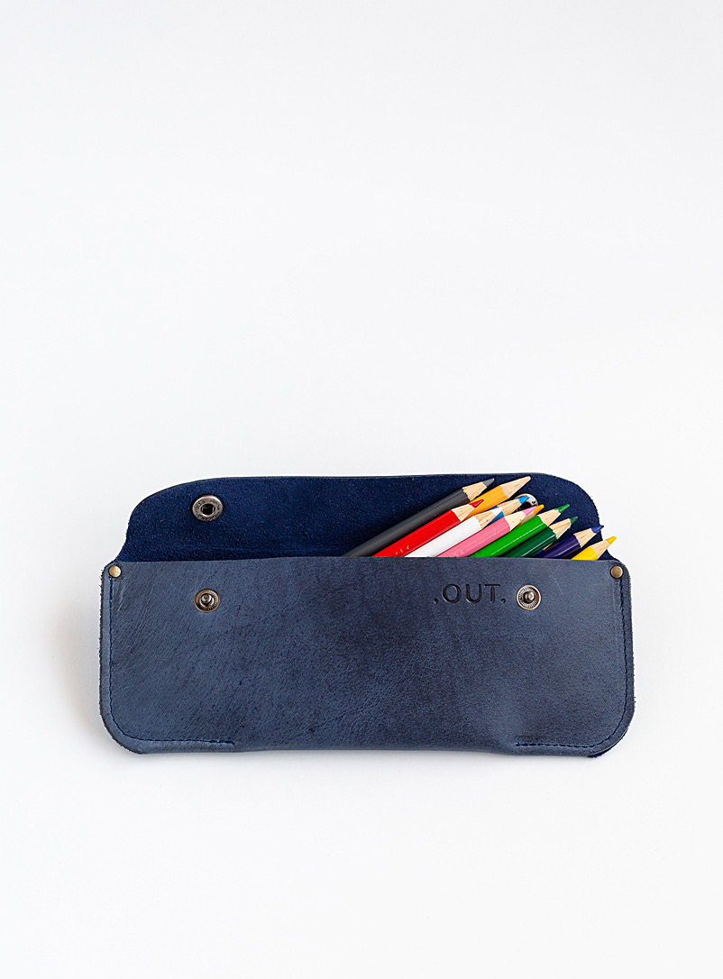 OUT Blue Frank pencil case