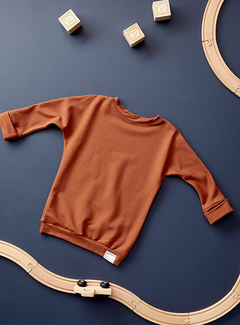 Trucs d'enfants Copper Grow-with-me sweatshirt