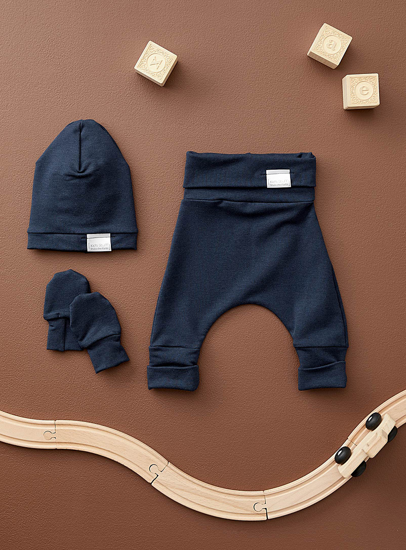 Trucs d'enfants Marine Blue Newborn grow-with-me set