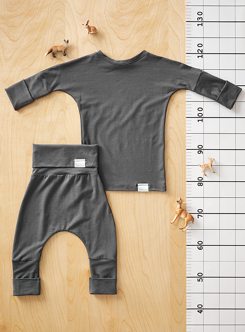 The sweatpant and pant set