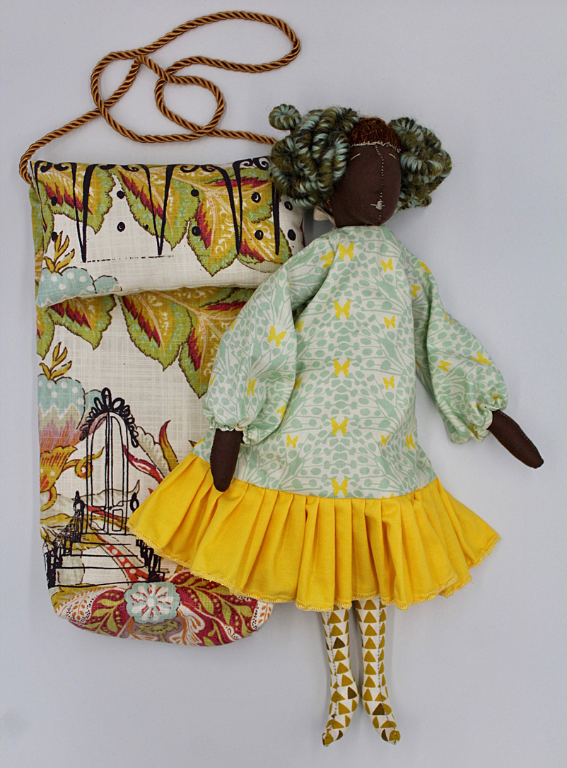 Brownstone Playhouse Brown Girl doll