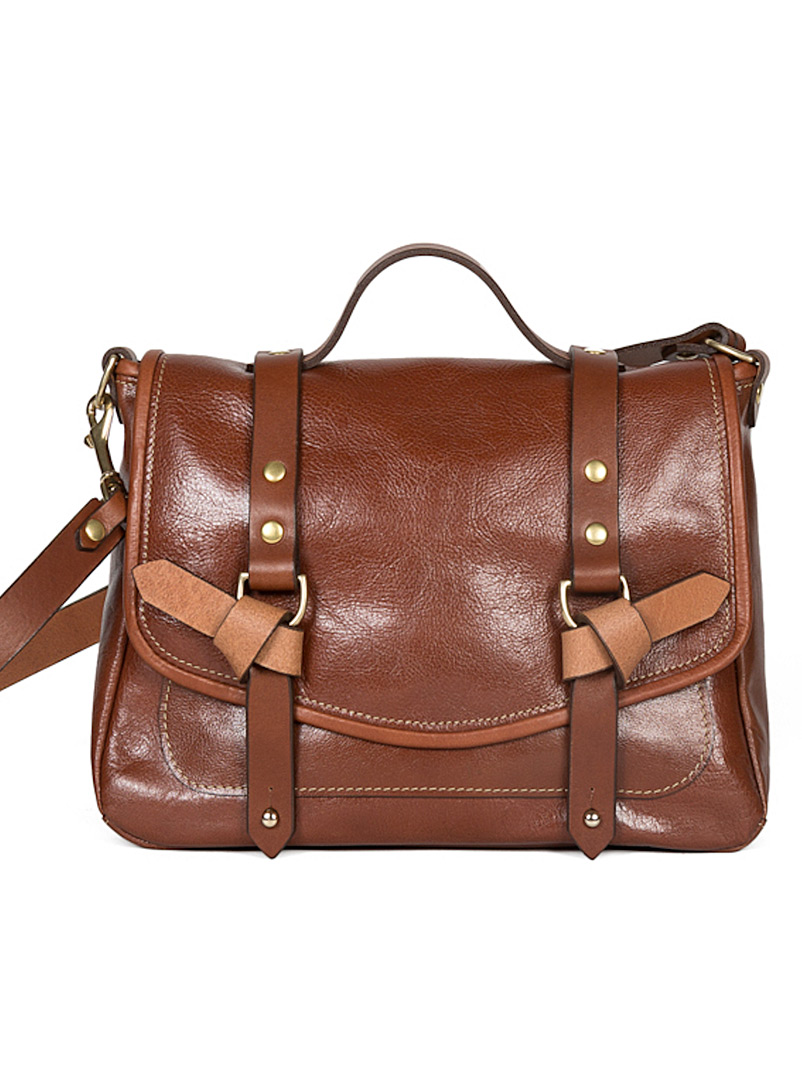 Flechr Brown Kate messenger bag