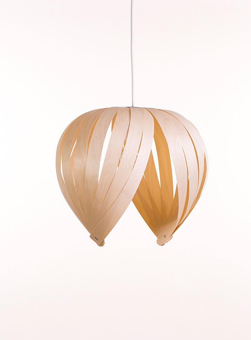 Atelier Cocotte Baltic Birch Open hazelnut hanging lamp