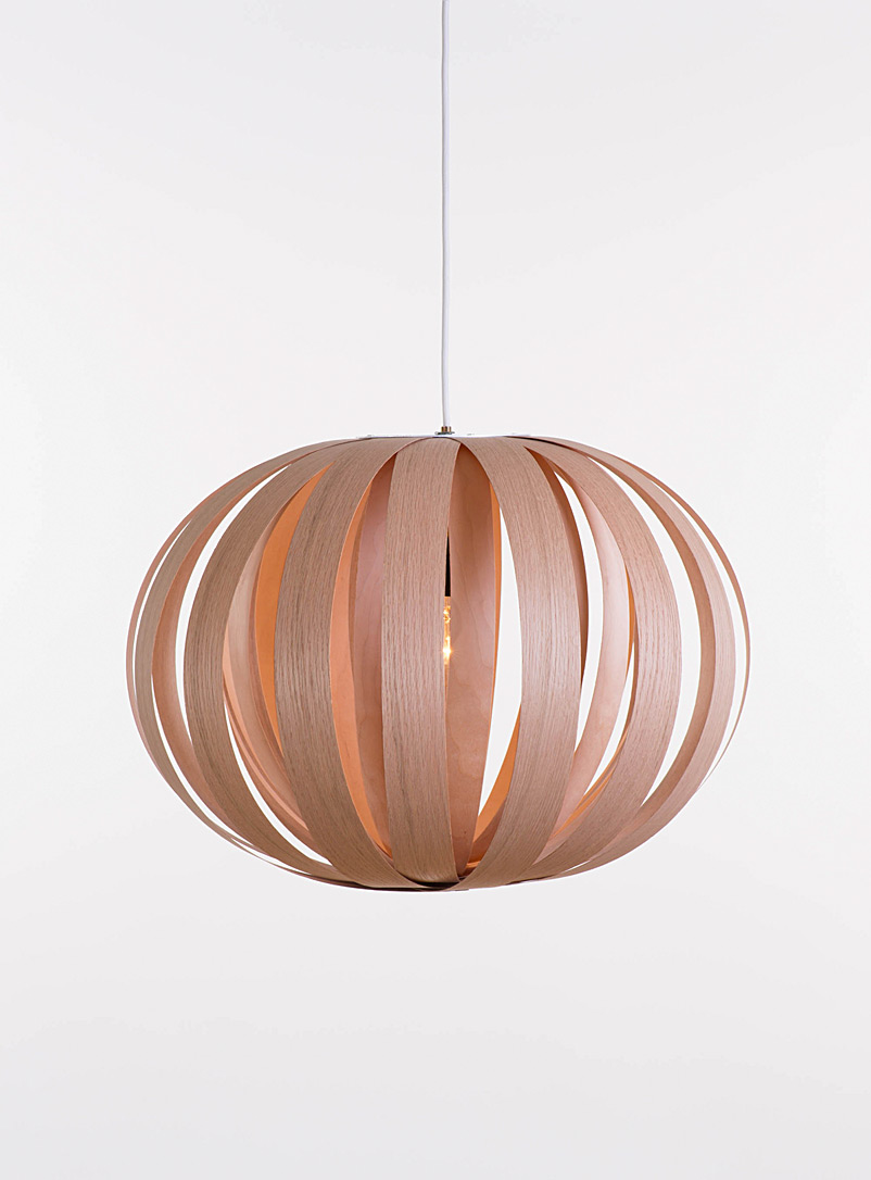 Atelier Cocotte Brown Large Ruth hanging lamp