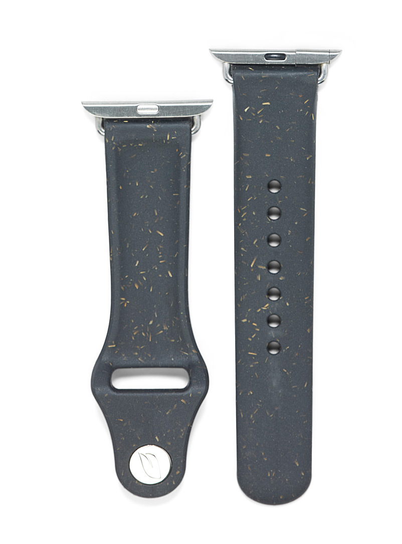 Pela Black Eco-friendly Apple Watch band for women