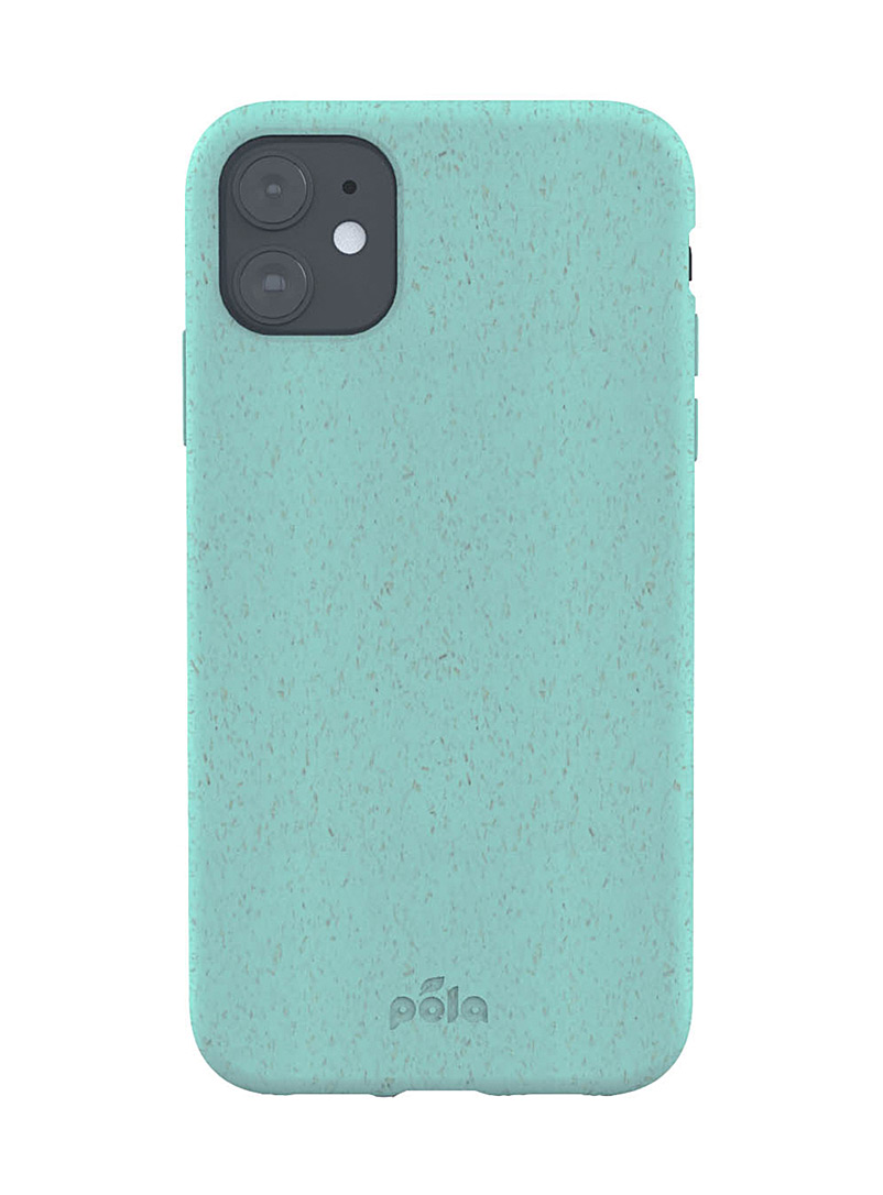 Pela Baby Blue Slim eco-friendly iPhone 11 case for women