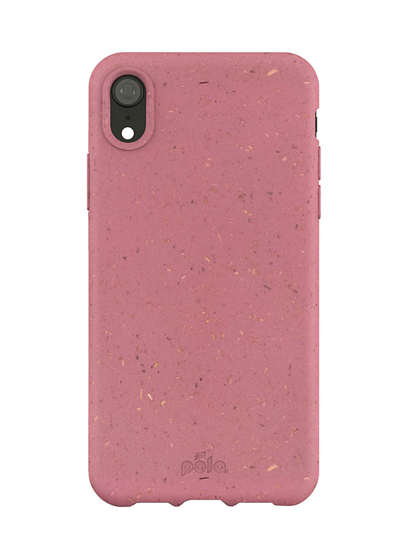 Pela Pink Slim eco-friendly iPhone XR case for women
