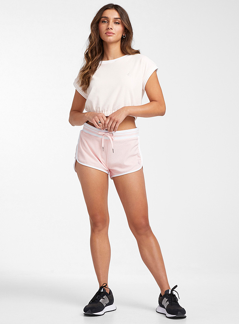 Juicy Couture Pink Terry jersey athletic short for women