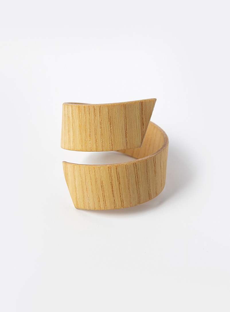 Bom(design) Baltic Birch Genuine wood band bracelet