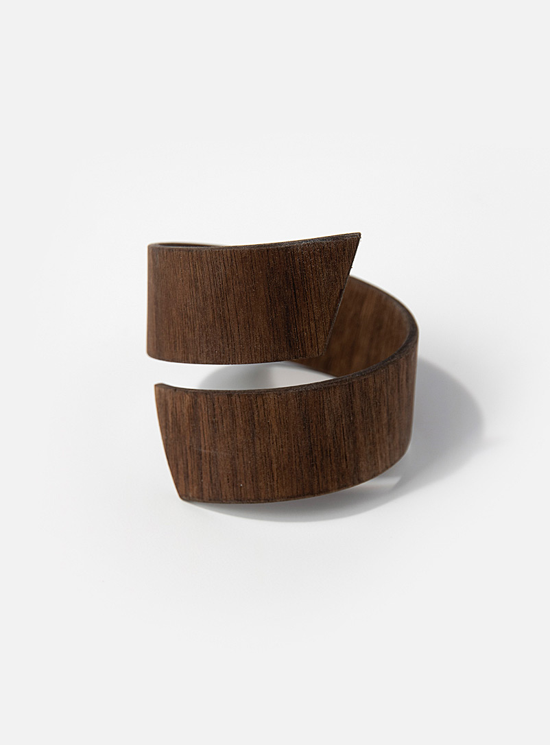 Bom(design) Walnut Wood Genuine wood band bracelet