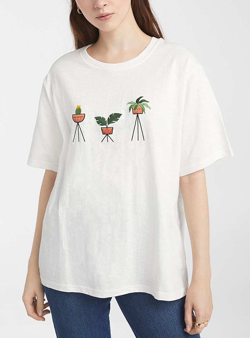 Green plants T-shirt