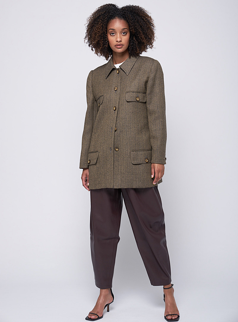 VSP Consignment Assorted Oversized cargo jacket Miss V Valentino for women