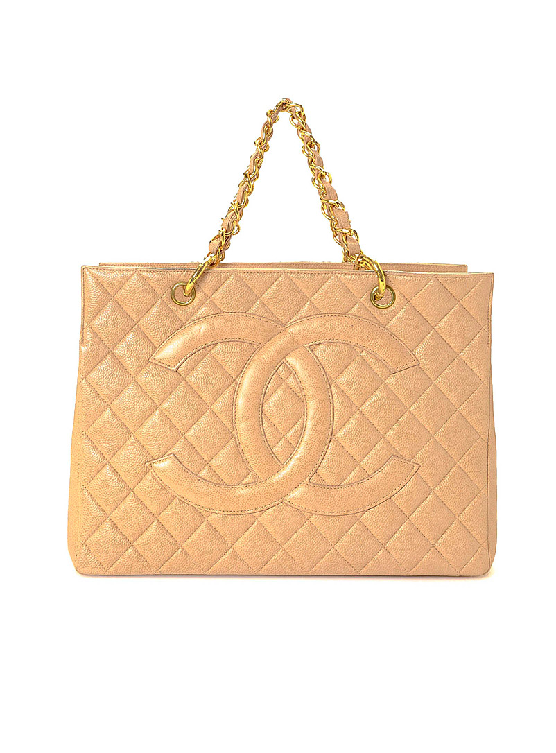 Edito Vintage Pink Grand Shopping Tote  Chanel for women