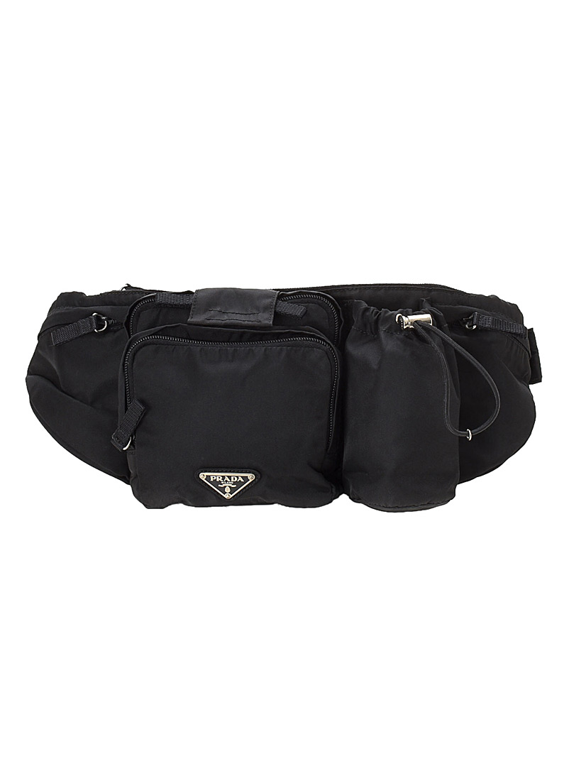 LXRandCo Black Tessuto belt bag  Prada for women