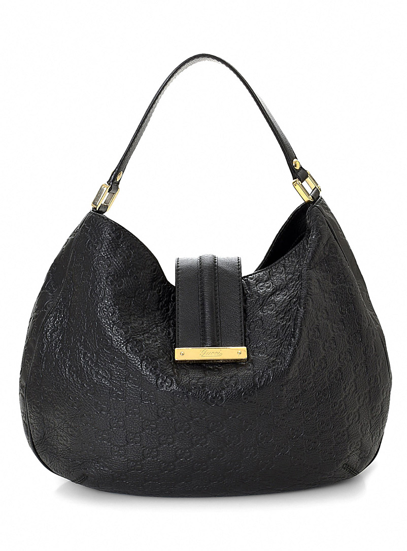 LXRandCo Black Guccissima hobo bag  Gucci for women