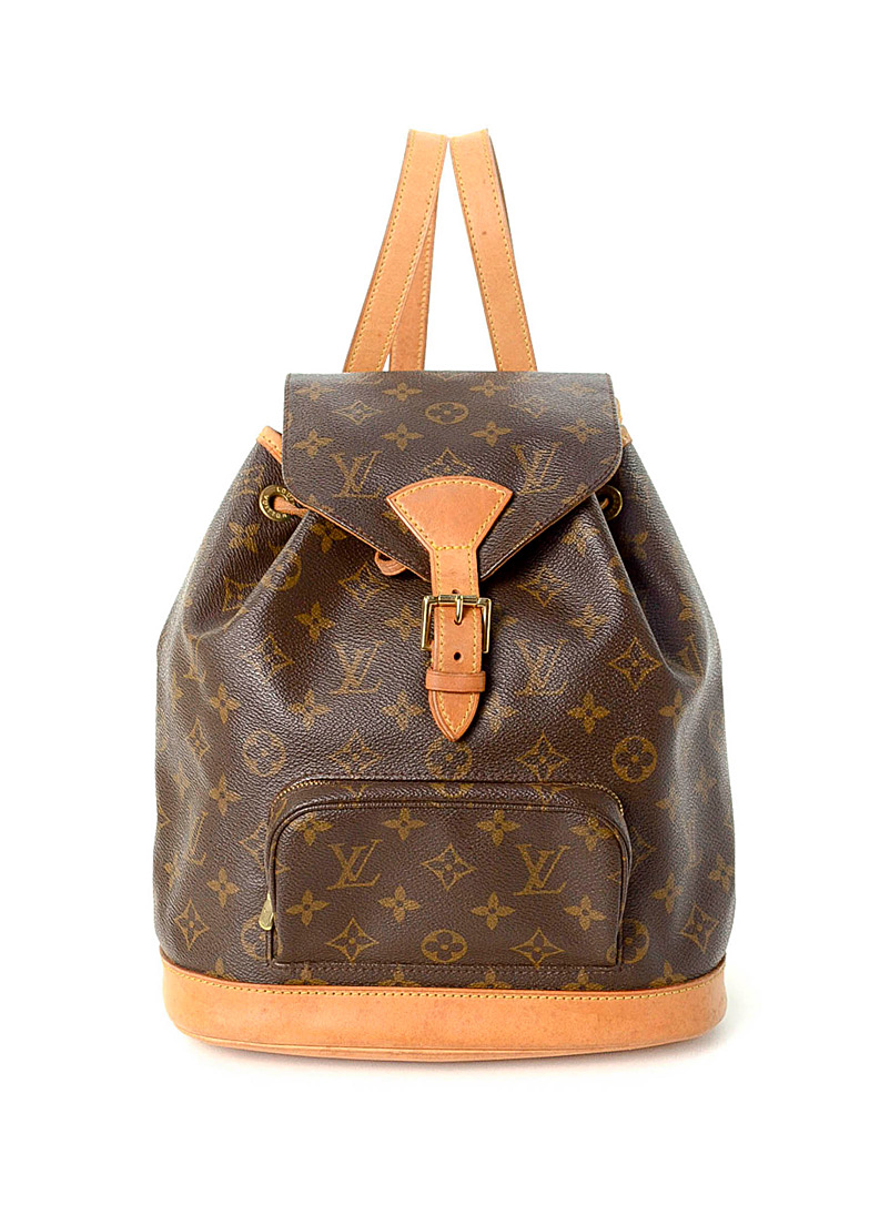 Edito Vintage Brown Montsouris MM backpack  Louis Vuitton for women