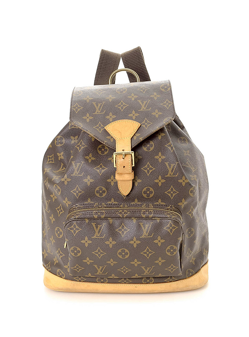 Edito Vintage Brown Montsouris GM backpack  Louis Vuitton for men