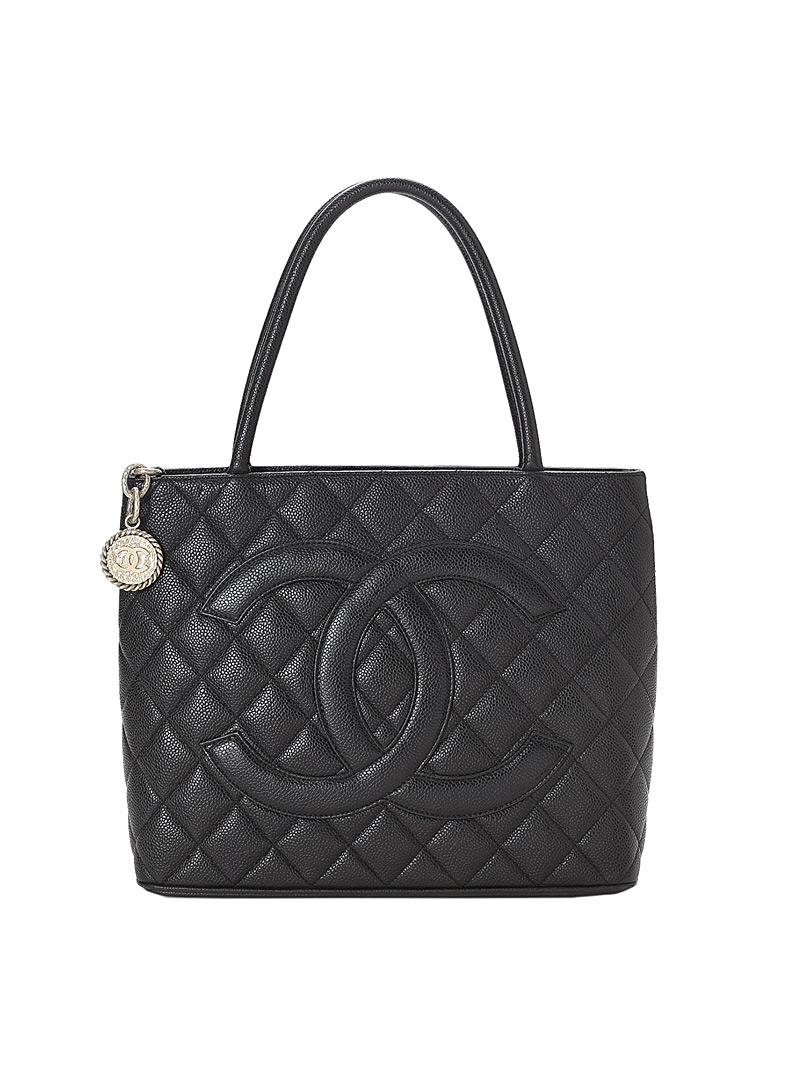 Edito Vintage Black The Medallion tote  Chanel for women