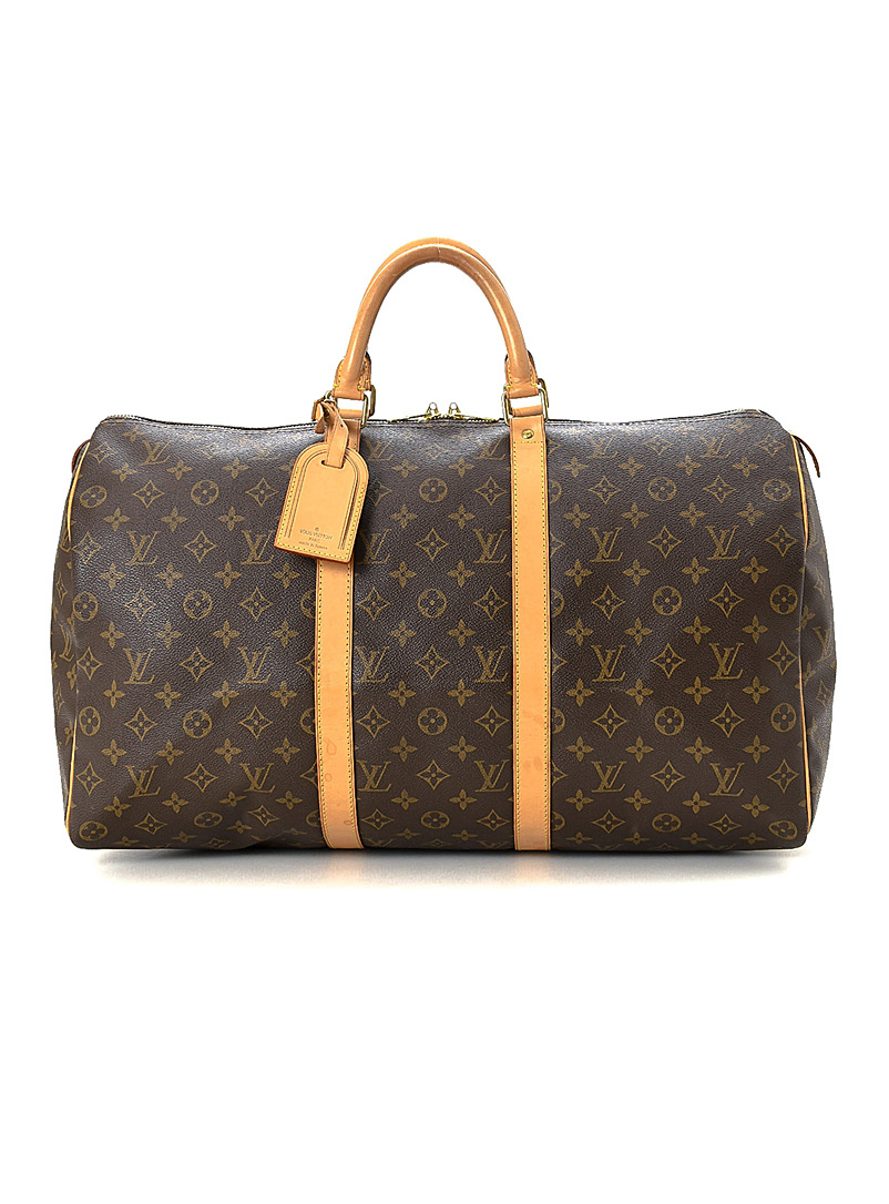 Edito Vintage Brown Keepall 50 travel bag  Louis Vuitton for women