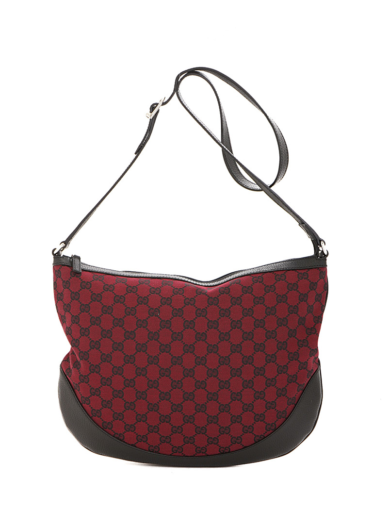 Edito Vintage Red GG canvas crossbody bag Gucci for women
