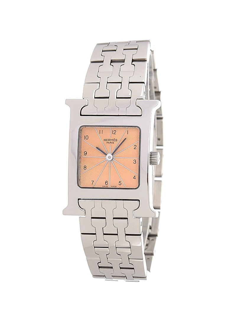 Edito Vintage Silver Heure H 21 mm HH1.210 watch Hermès for women