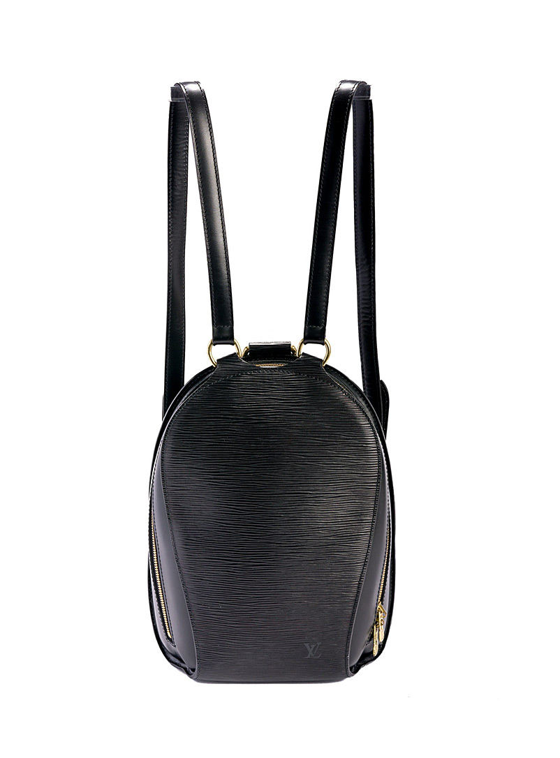 Edito Vintage Black Mabillon backpack Louis Vuitton for women