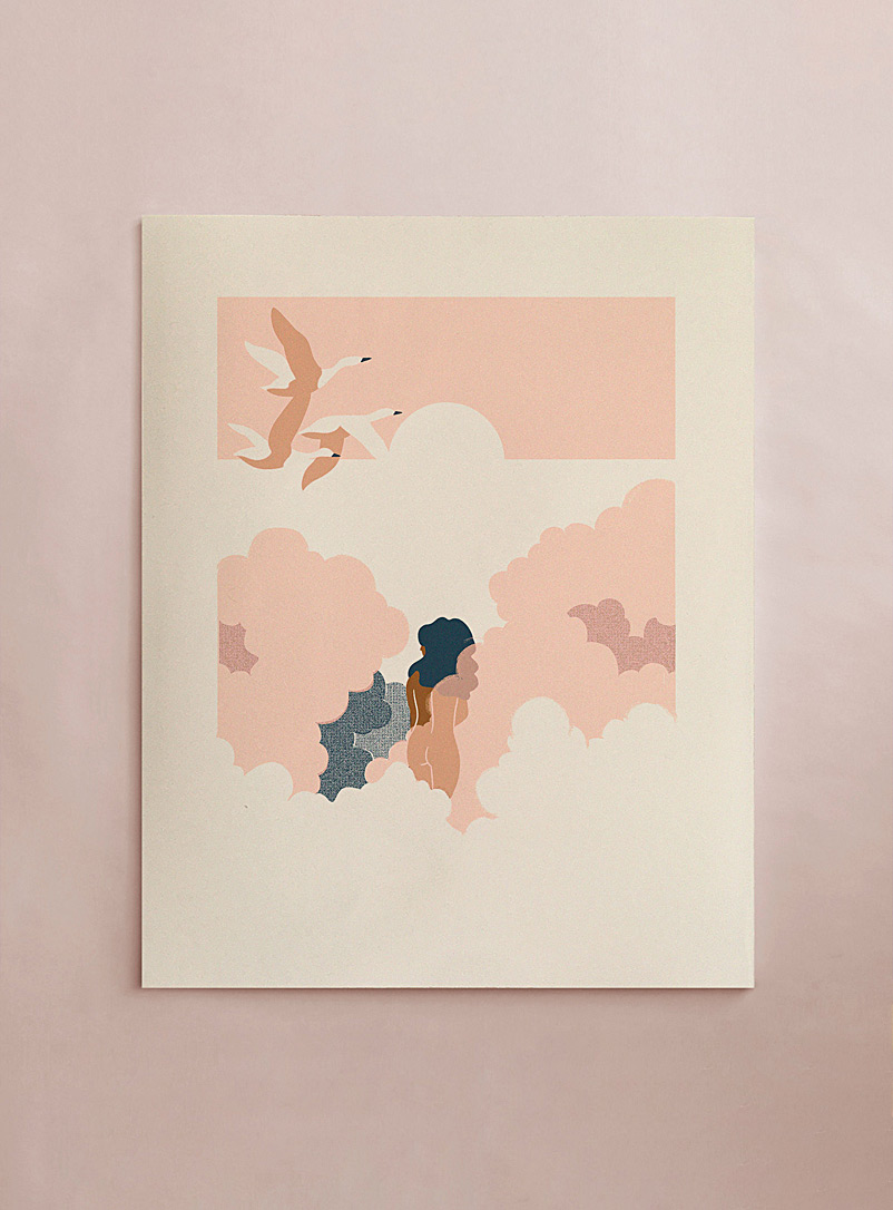 Stephanie Cheng Assorted Clouds art print
