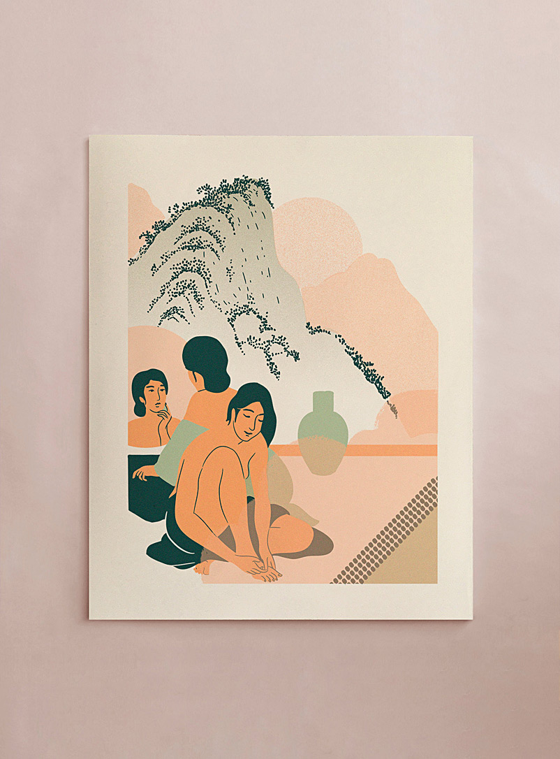 Stephanie Cheng Assorted Elegant Water I art print