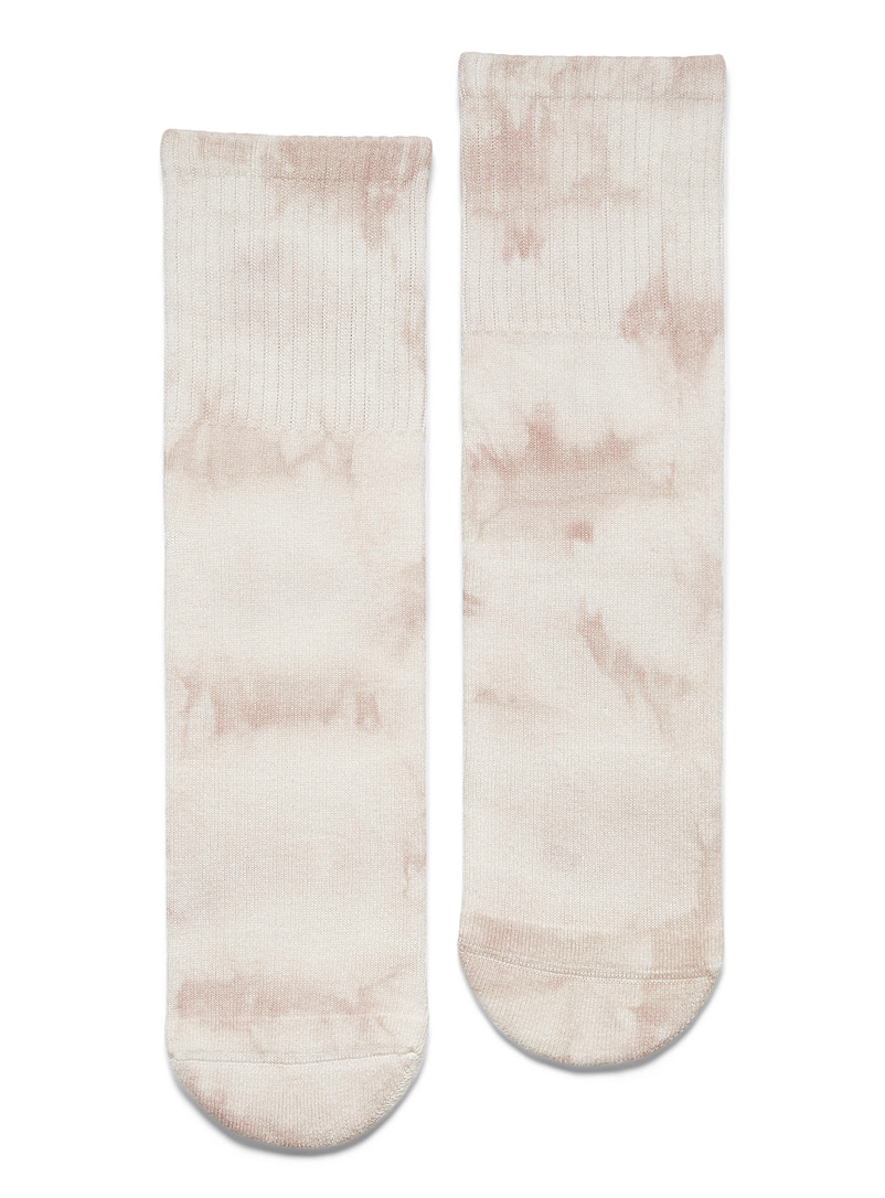 Simons Sand Cloud tie-dye socks for women
