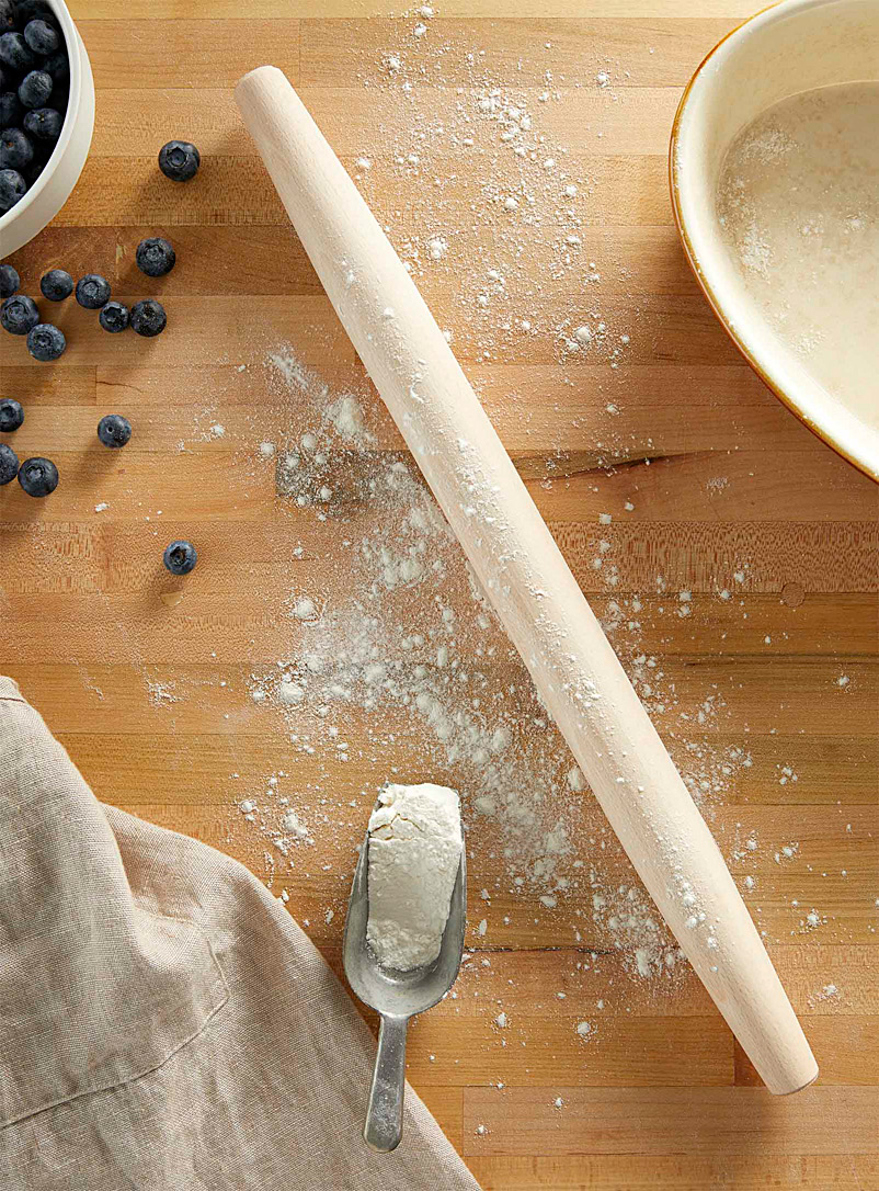 Simons Maison Assorted Natural wood rolling pin