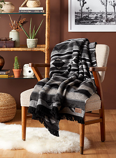 Compass points blanket