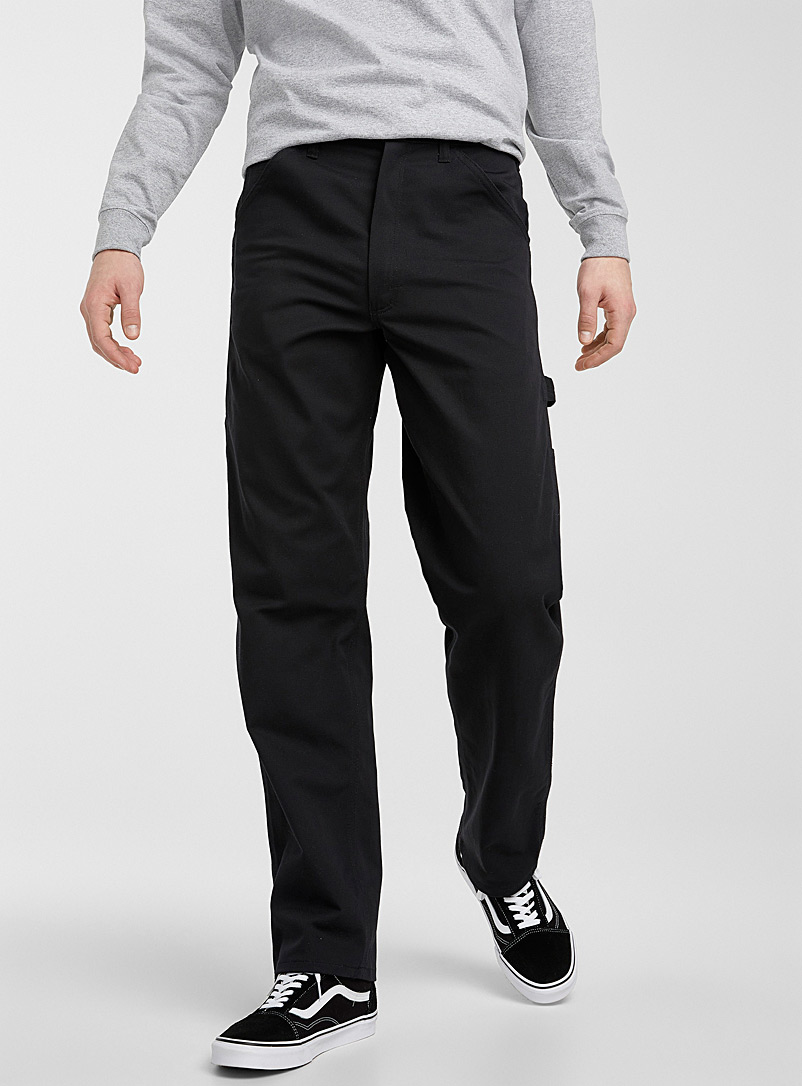 Stan Ray Black Black Painter pant Straight fit for men