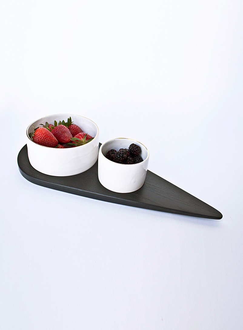 Nadine Hajjar Studio Ash Éva serving plate  3 sizes available