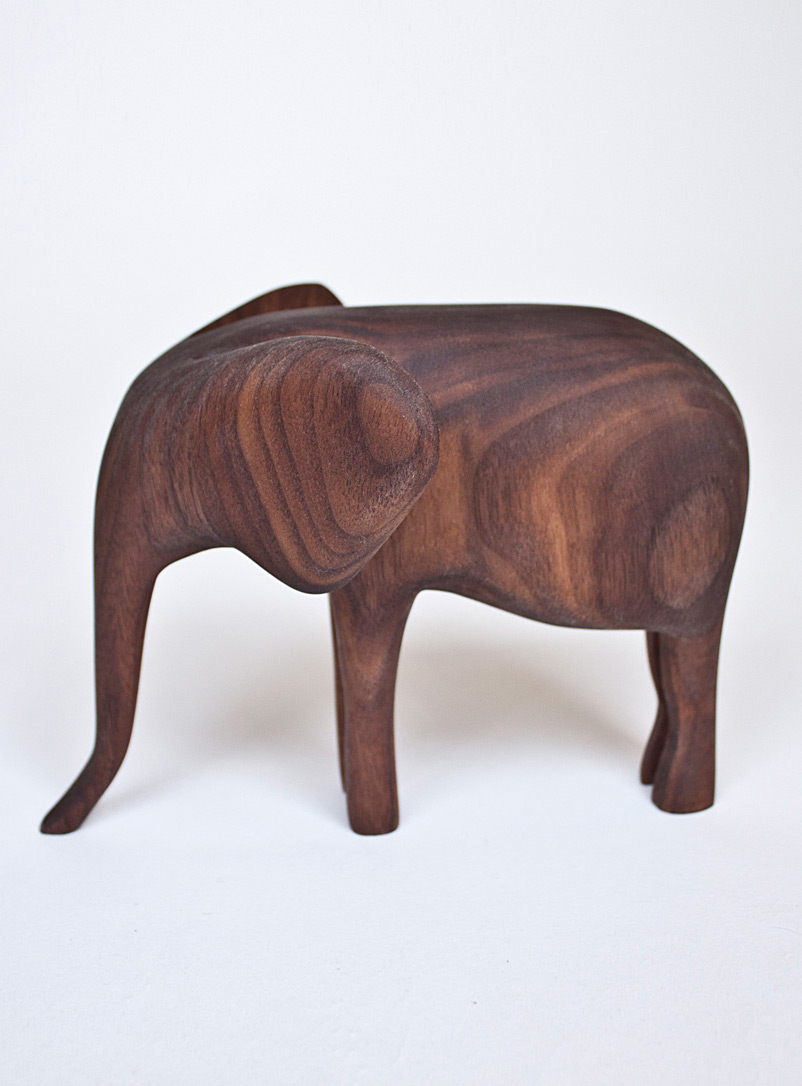 Nadine Hajjar Studio Walnut Colonel walnut sculpture