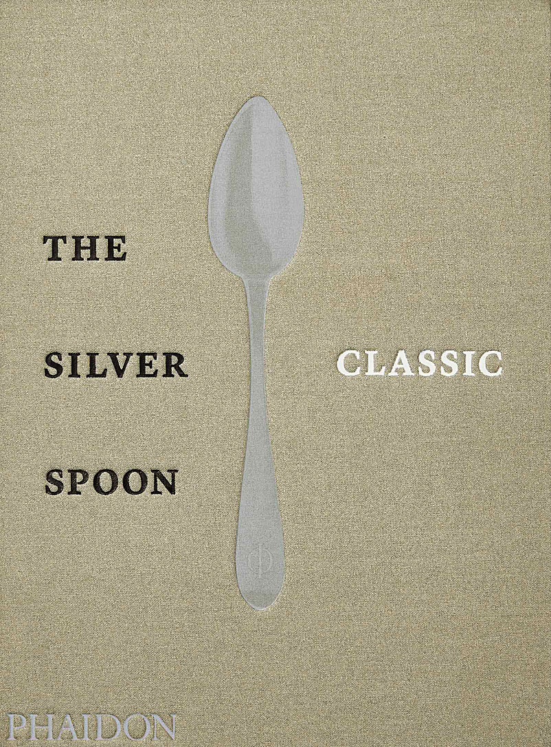 Phaidon Assorted The Silver Spoon Classic book for men