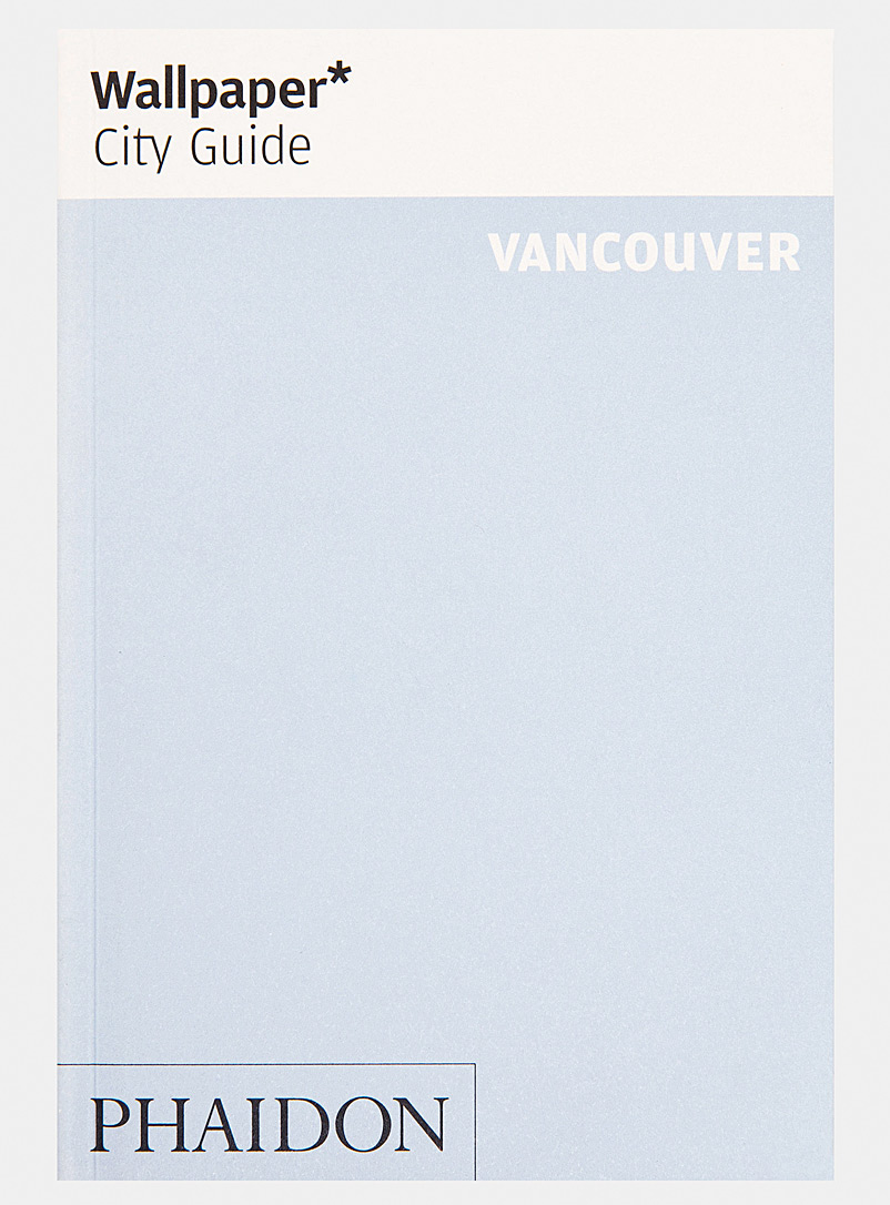 Phaidon Assorted Wallpaper City Guide Vancouver book for men