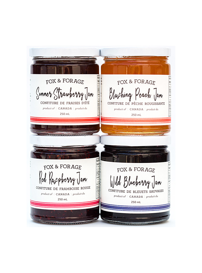 Fox & Forage jam set  4-jar set