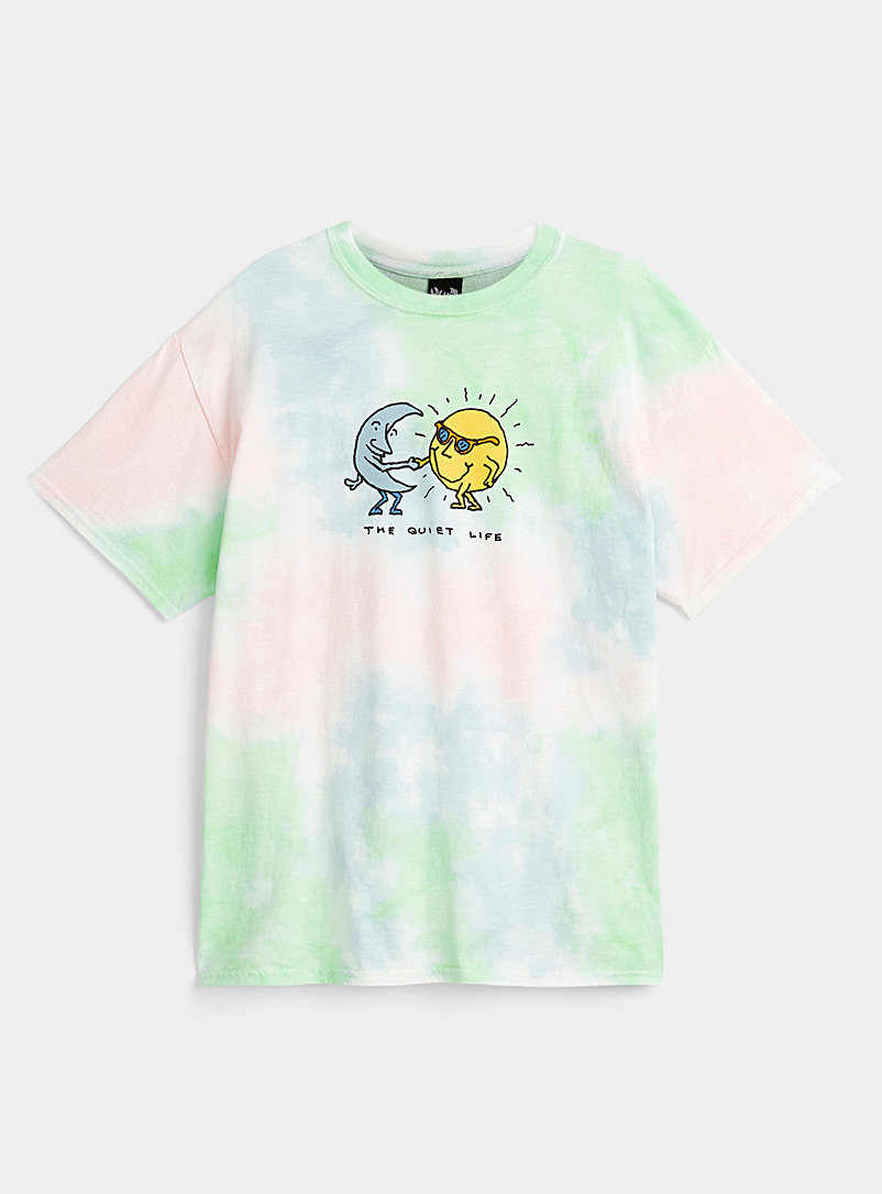 The Quiet Life Assorted Sun and Moon tie-dye T-shirt for men