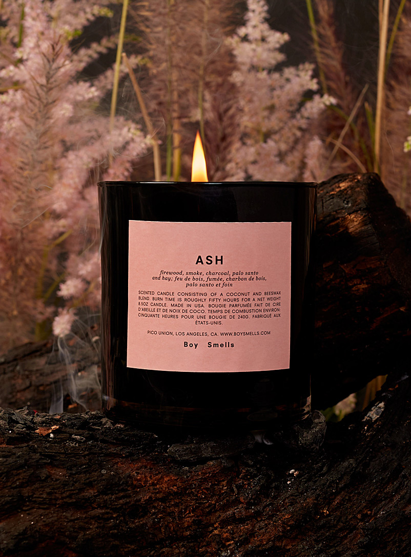 Boy Smells Charcoal Essential scented candle 7 fragrances available for women